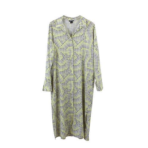 L   MONKI שמלת אוברסייז הדפס