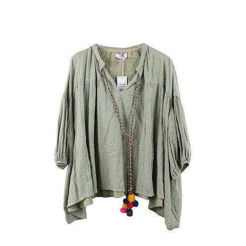 OS | WIYA חולצת בוהו עם טיקט