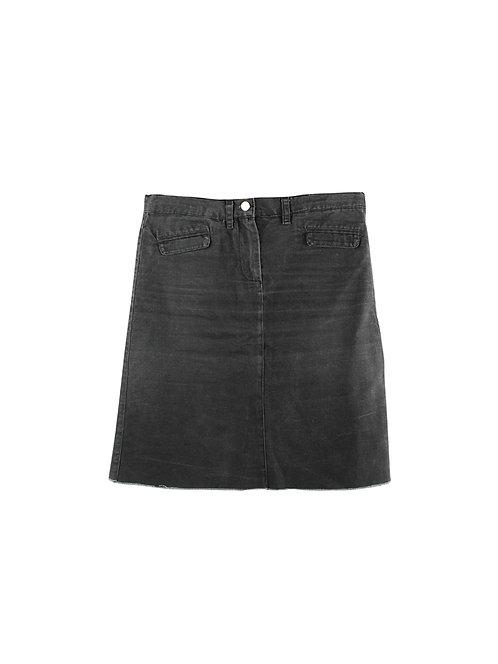 M | RONI BAR חצאית מיני ג׳ינס שחור