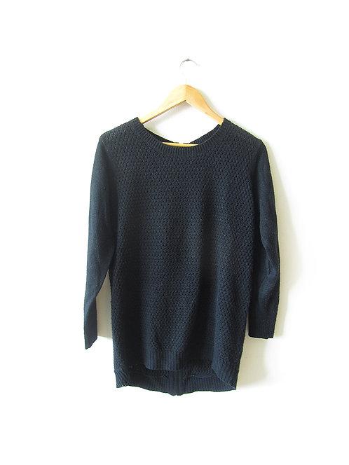 M סוודר שחור מידה