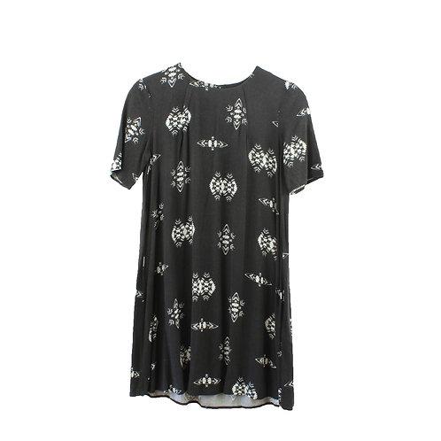 XS | שמלת הדפס אתני