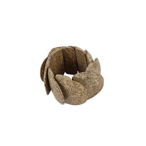 צמיד דמוי אבן חום
