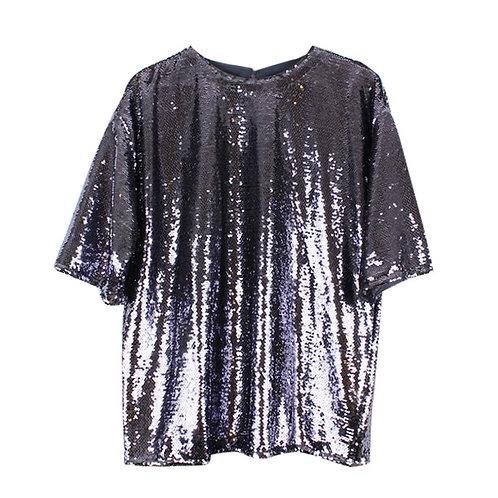 L   ASOS חולצת פייטים