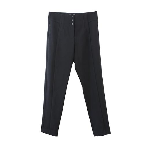 M | BIMBA & LOLA מכנסיים מחויטים חורפיים