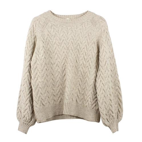 S/M | Basic Apparel סוודר צמות