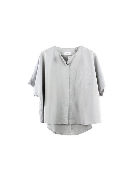 L    KAV חולצת אוברסייז פסים