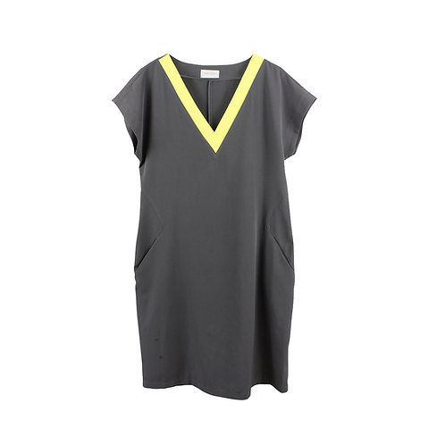 M |  Keren Avisar שמלת וי צהוב