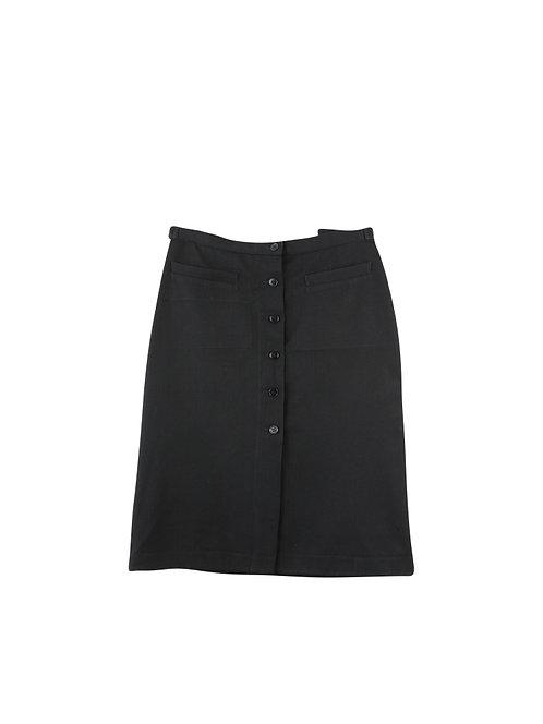 40   Agnes b חצאית צמר שחורה