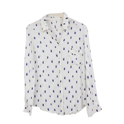 M | חולצה מכופתרת