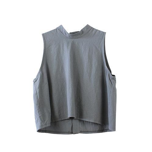 M\L | NINA חולצת זואי אפורה