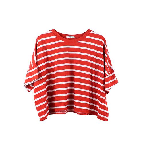 OS | OPIUM  חולצת פסים אדומה