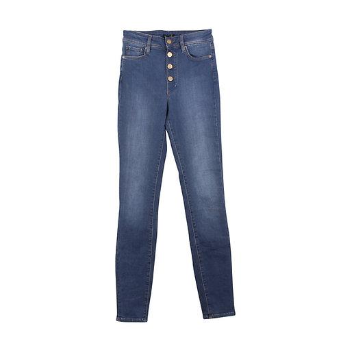 XS | MASSIMO DUTTI סקיני ג׳ינס כפתורים