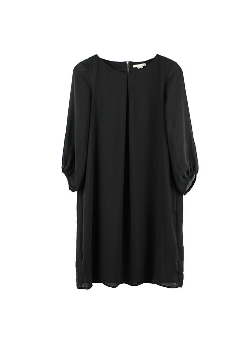 40 | H&M שמלת שרוולים שחורה