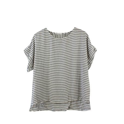 M | emma חולצת פסים קנזו
