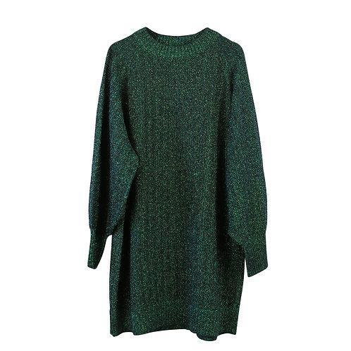 XL | H&M שמלה סריג לורקס