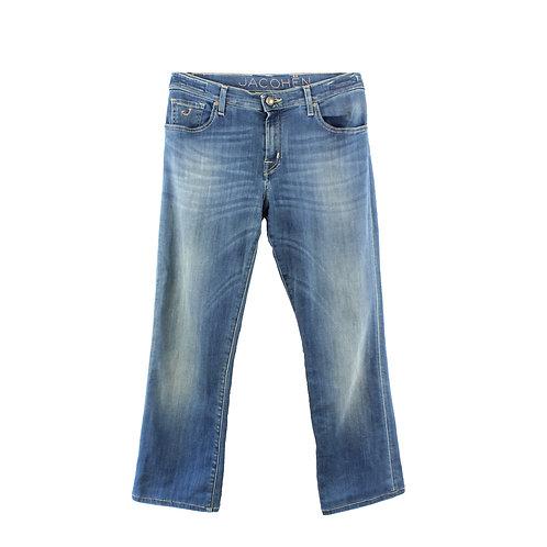L   JACOB COHEN ג׳ינס קרסוליים