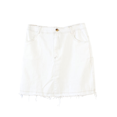 L | LILACH ELGRABLY חצאית ג׳ינס מולבן