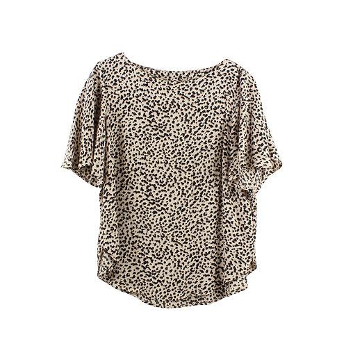 M | H&M חולצה מנומרת ויסקוזה