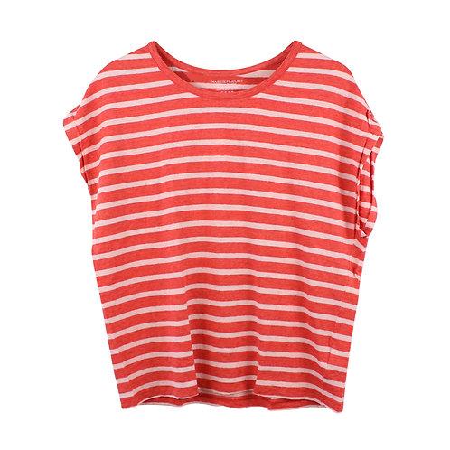 M/L   MAJESTIC חולצת פסים פשתן