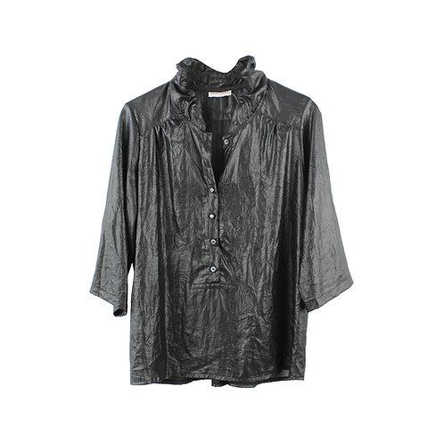 L   LIMOR GAVRIEL חולצת צווארון כיווצים