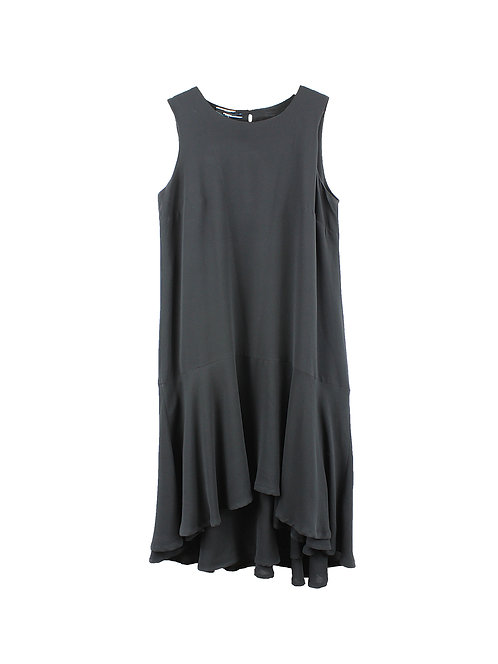 L | Andy ve Eirn  שמלת ערב פפלום שחורה