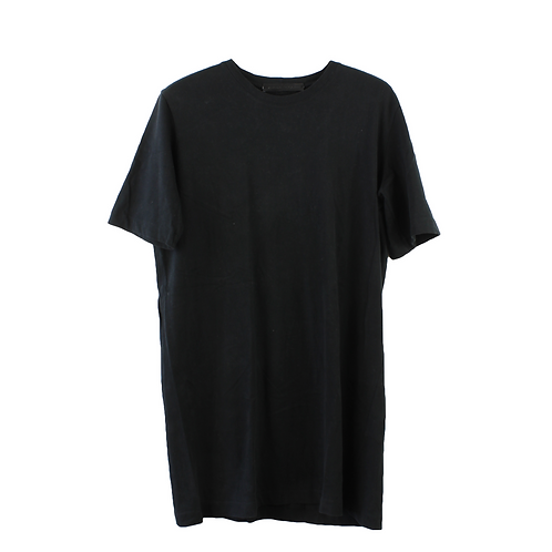 M | Rimma romano שמלה שחורה פס בגב