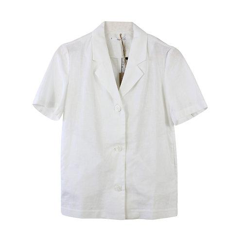 XS   MANGO חולצה לבנה מכופתרת