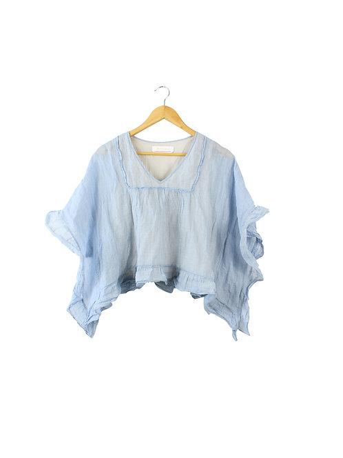 38 -See By Chloe חולצת בוהו תכלת