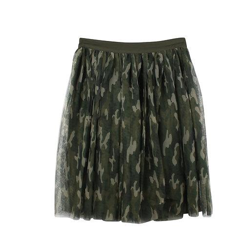 S | ENGLISH FACTORY  חצאית טול קומופלאז׳