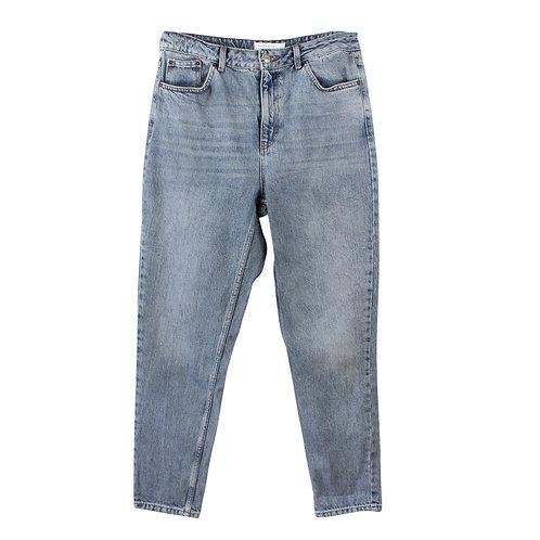 L | TOPSHOP בהיר mom ג׳ינס