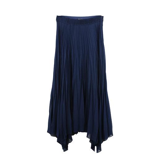 M   Massimo Dutti חצאית פליסה שיפון
