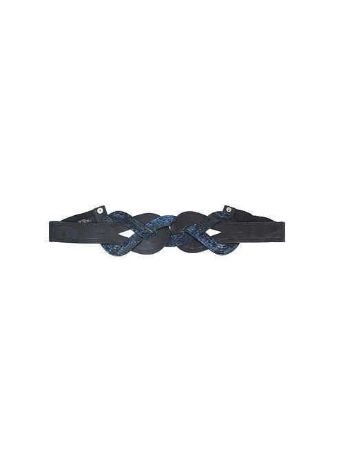 85 | חגורה שחור כחול