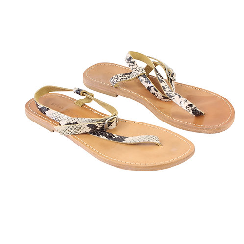 36 | greek sandals סנדלים מינימליסטים
