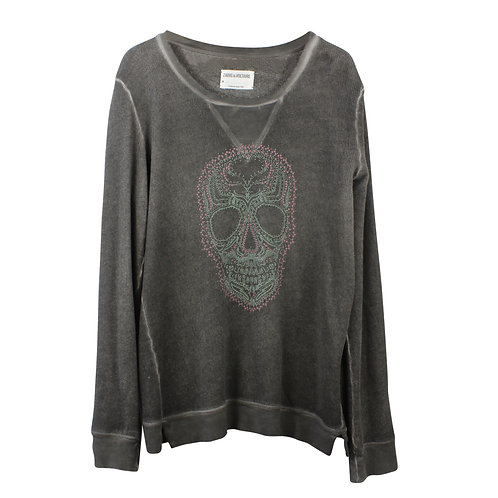 M/L | ZADIG & VOLTAIRE סווטשירט גולגולת