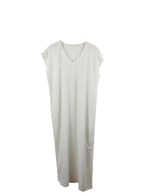 S | GOLF  שמלת גלבייה רקומה