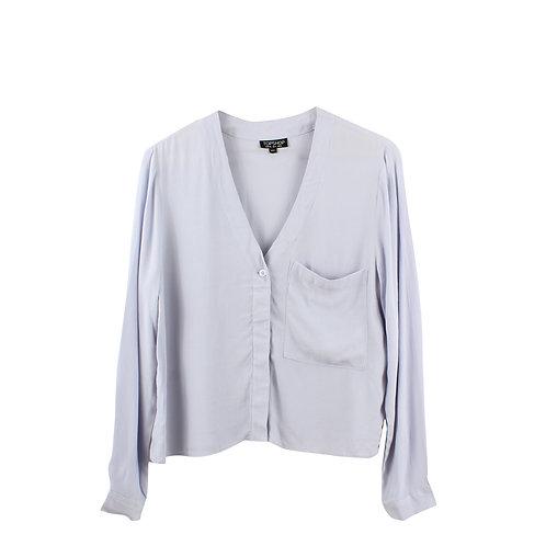 S | TOPSHOP חולצת ויסקוזה