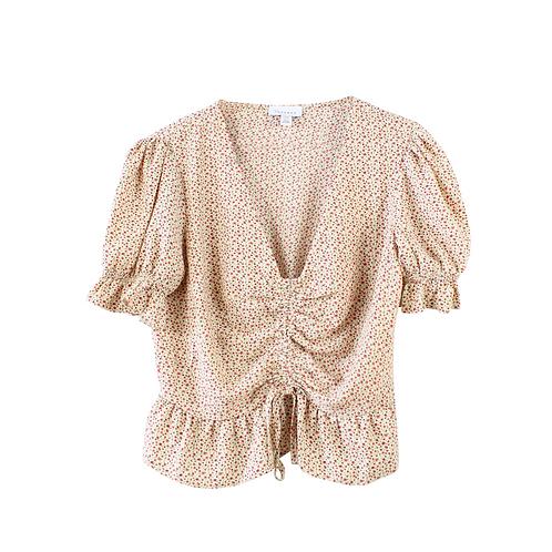 M | TOPSHOP חולצה פרחונית