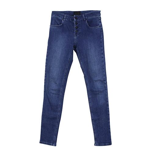 M | ZUCKER סקיני ג׳ינס כחול