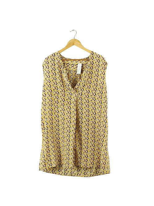 L -American Vintage שמלת/טוניקה משי