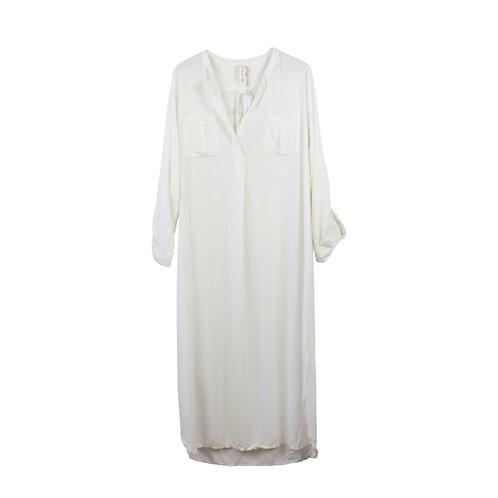 M\L | SACK'S שמלת גלביה עם כיסים