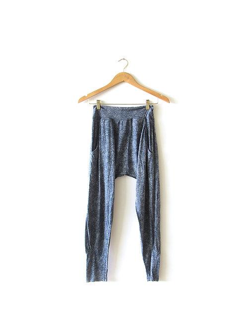מכנסיים משחוררים צבע ג'ינס מידה 1