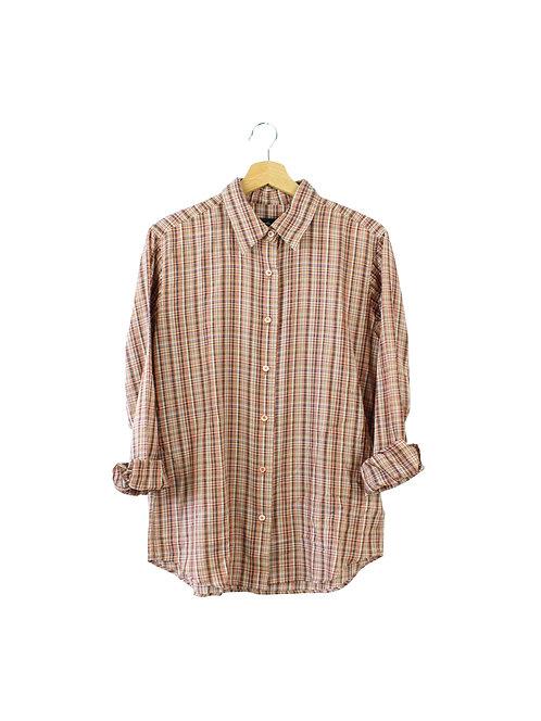 40 -agnes b. חולצת משובצת