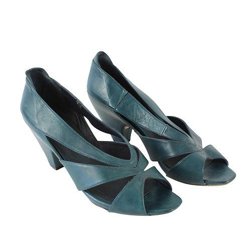 40 | vialis נעלי פיפ טואו טורקיז
