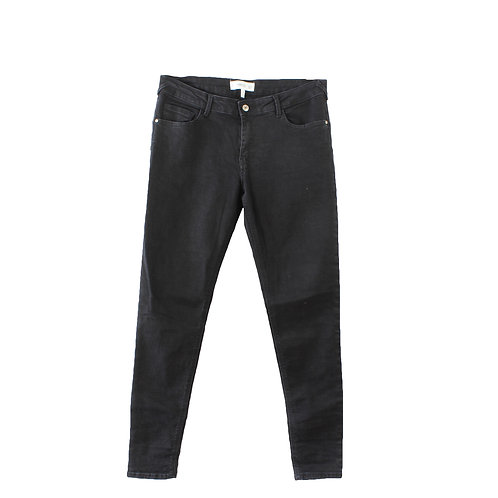 L   MANGO ג׳ינס סקיני שחור
