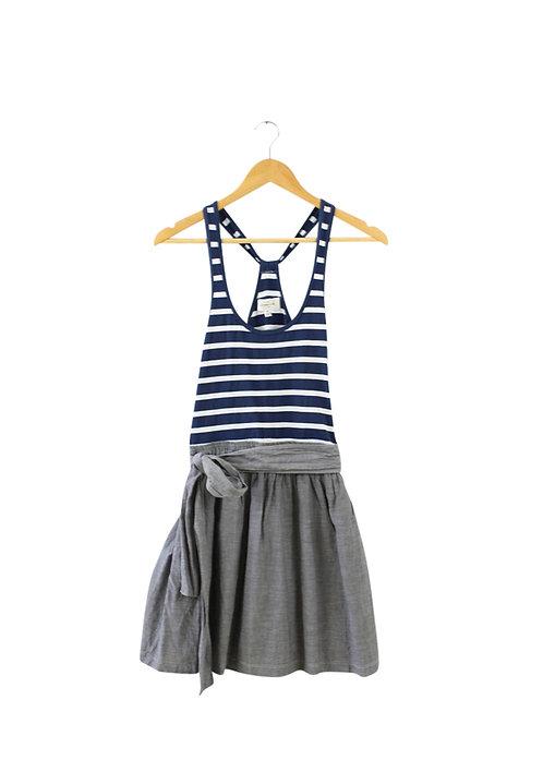 S/M-A&F שמלה משולבת