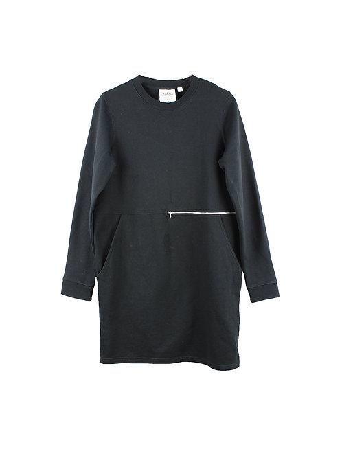 L | CHEAP MONDAY  שמלת רוכסן שחורה