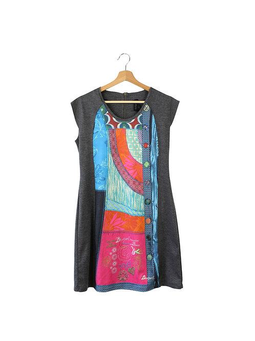 L DESIGUAL שמלה קצרה