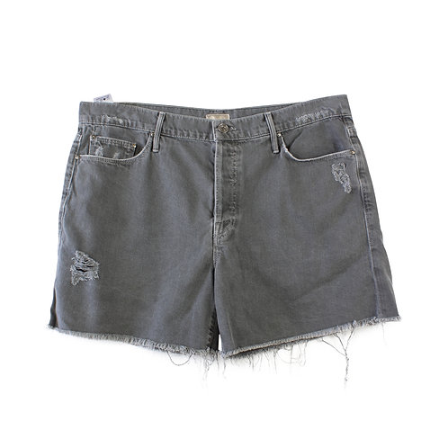 L | MOTHER Vagabond Fray Short