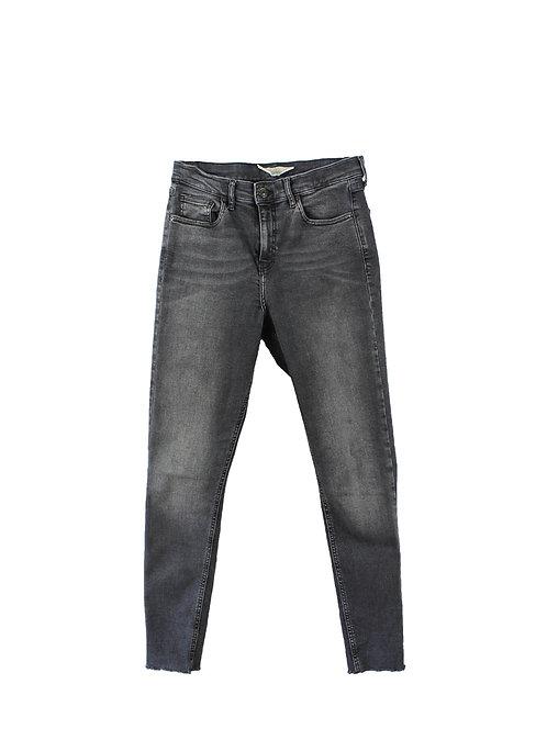 M | TOPSHOP  ג׳ינס ג׳יימי שחור ווש