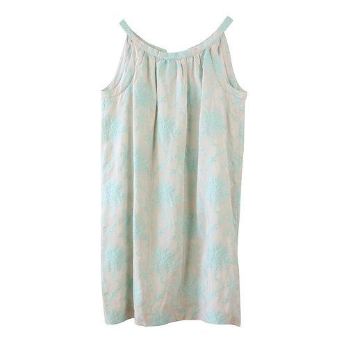 L | Bonpoint שמלה רקומה